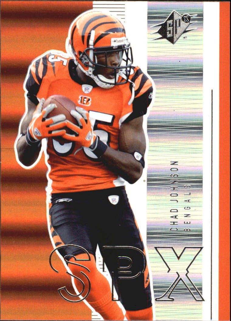2005 SPx #21 Chad Johnson