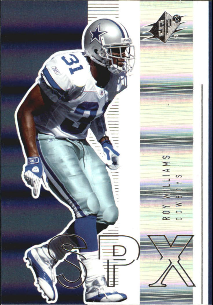 2005 SPx #24 Roy Williams S