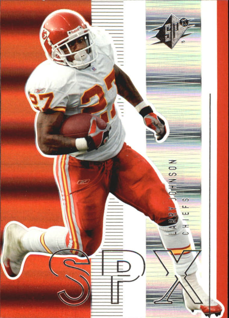 2005 SPx #45 Larry Johnson