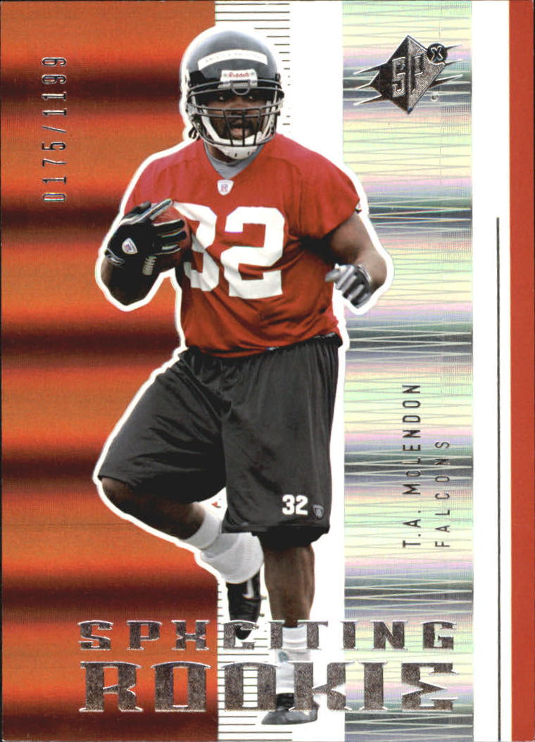 2005 SPx #165 T.A. McLendon RC