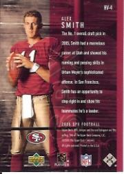 2005 SPx Holoview #4 Alex Smith QB back image