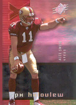 2005 SPx Holoview #4 Alex Smith QB