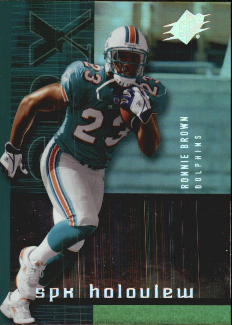 2005 SPx Holoview #22 Ronnie Brown