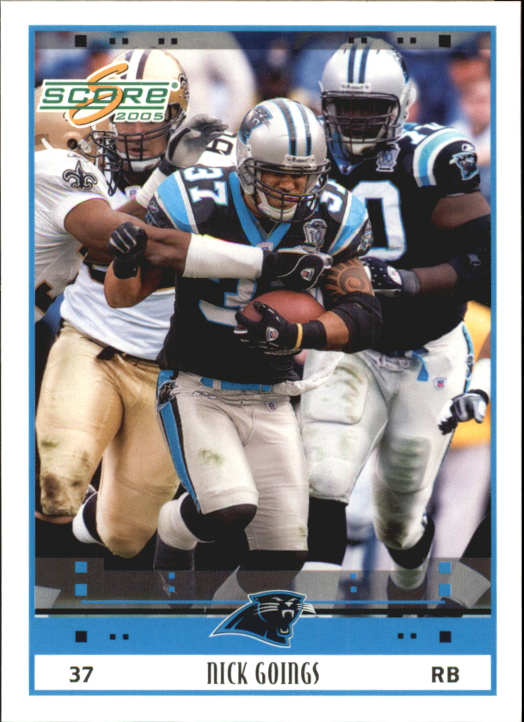 2005 Score Glossy #43 Nick Goings