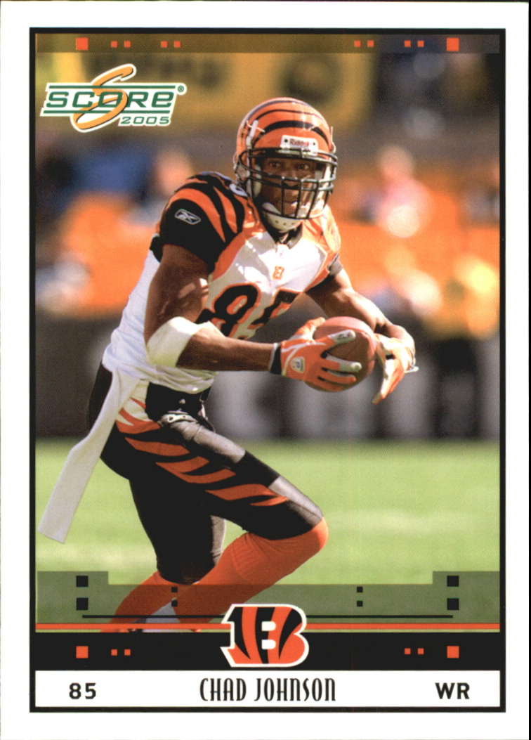 2005 Score Glossy #56 Chad Johnson