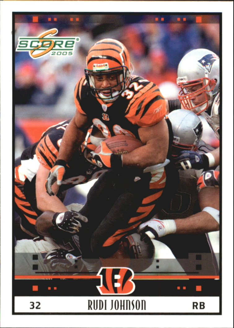 2005 Score Glossy #61 Rudi Johnson
