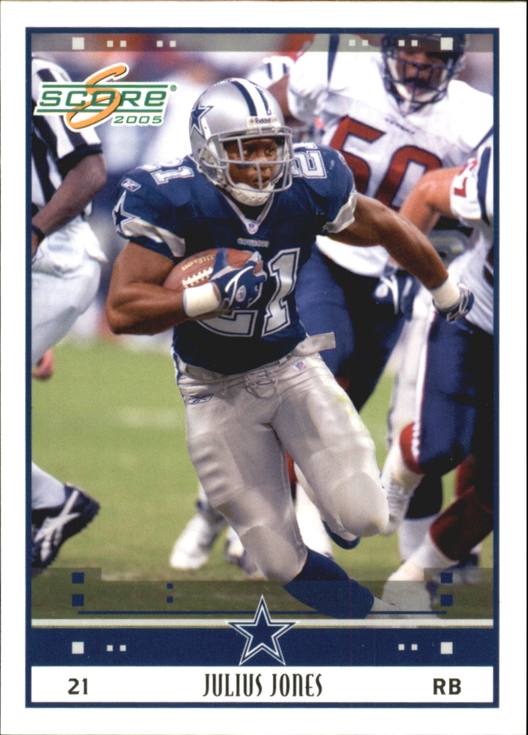 2005 Score Glossy #74 Julius Jones
