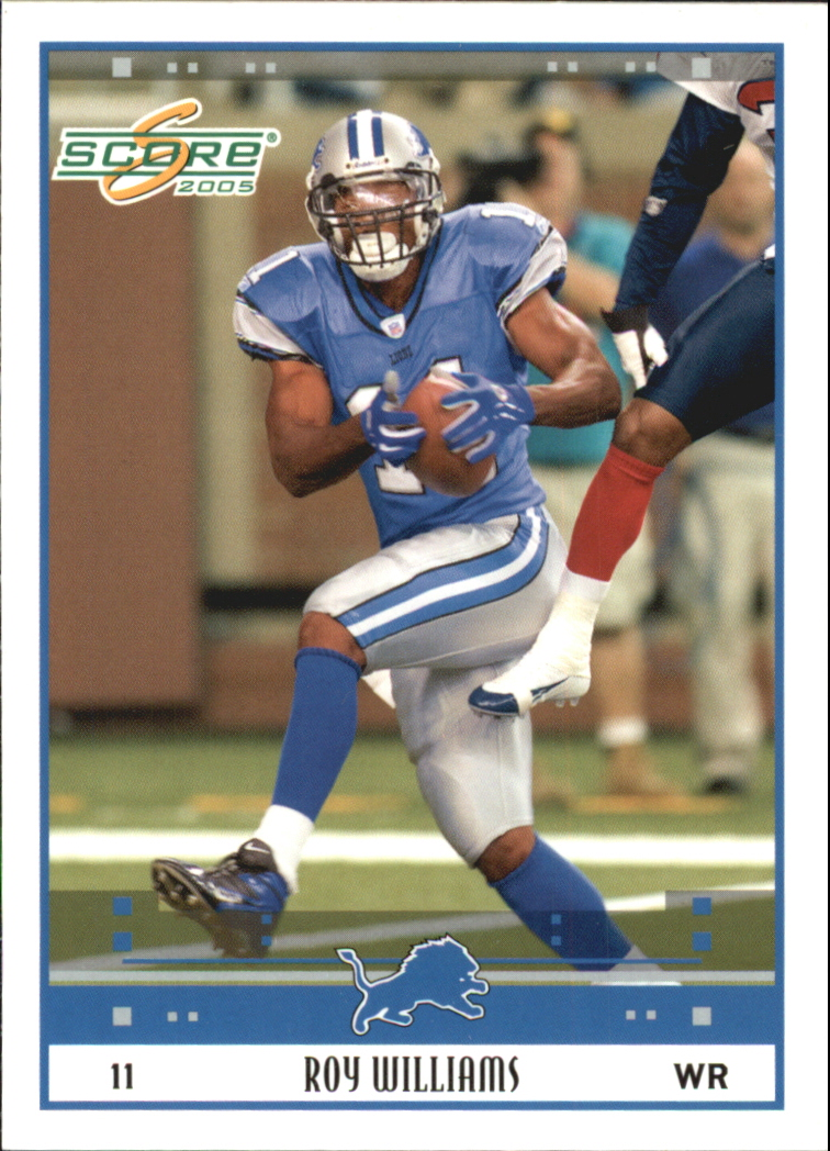 2005 Score Glossy #96 Roy Williams WR