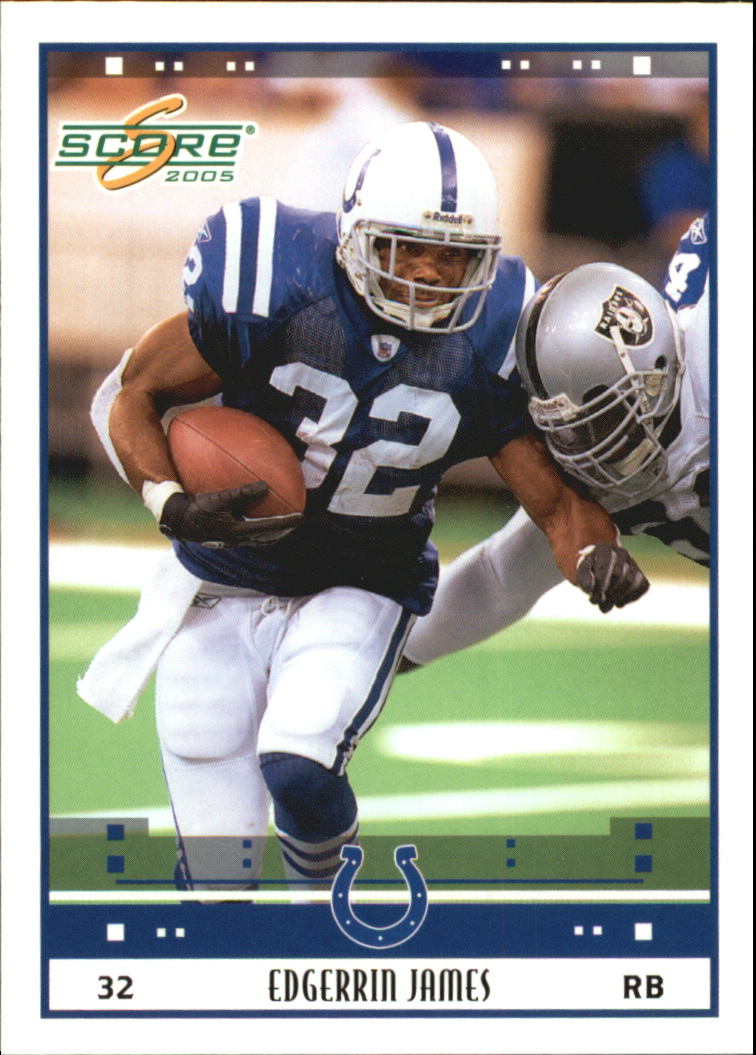 2005 Score Glossy #121 Edgerrin James