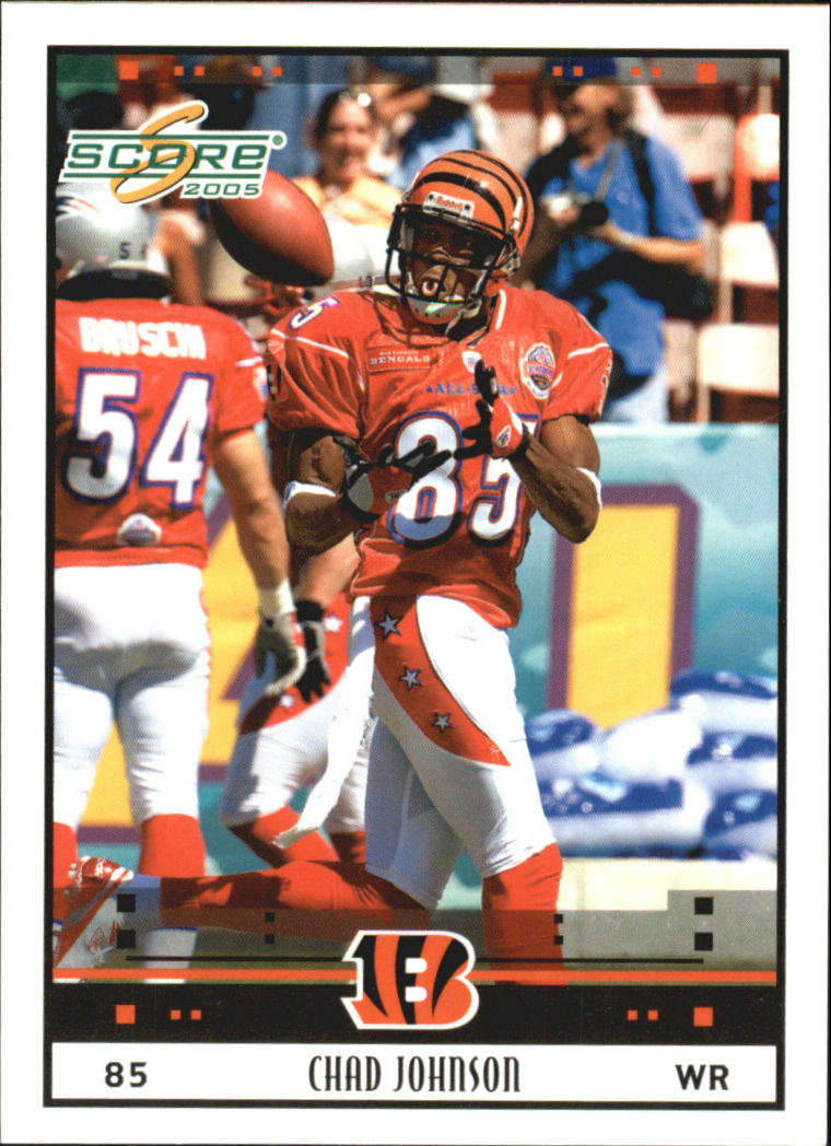 2005 Score Glossy #322 Chad Johnson