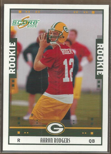 2005 Score Glossy #352 Aaron Rodgers