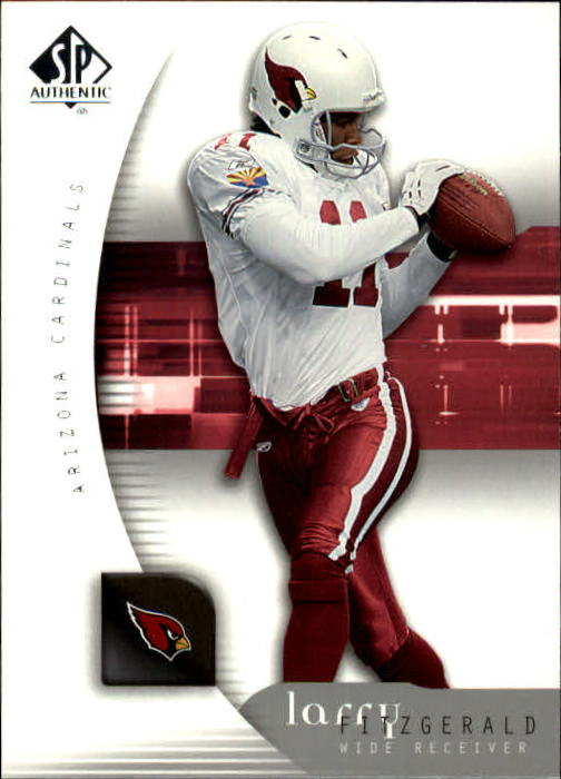 2005 SP Authentic #2 Larry Fitzgerald
