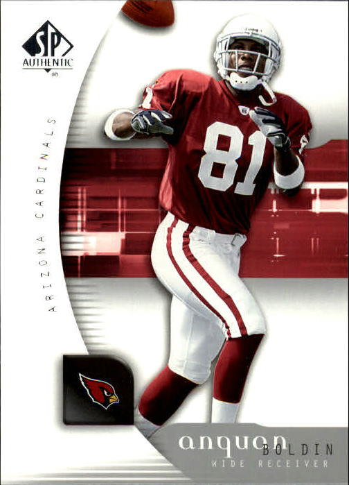 2005 SP Authentic #3 Anquan Boldin