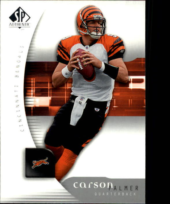 2005 SP Authentic #17 Carson Palmer