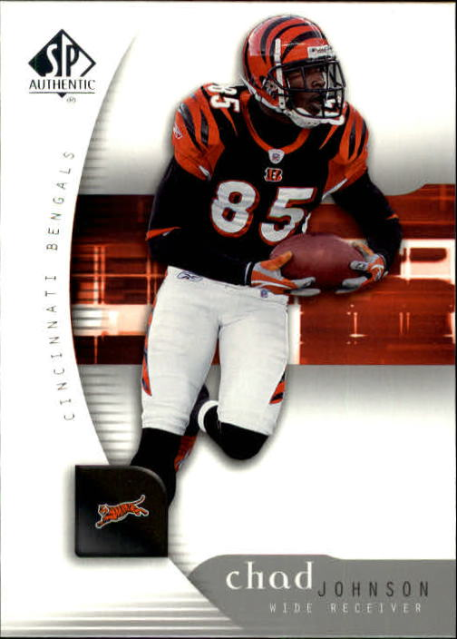 2005 SP Authentic #19 Chad Johnson