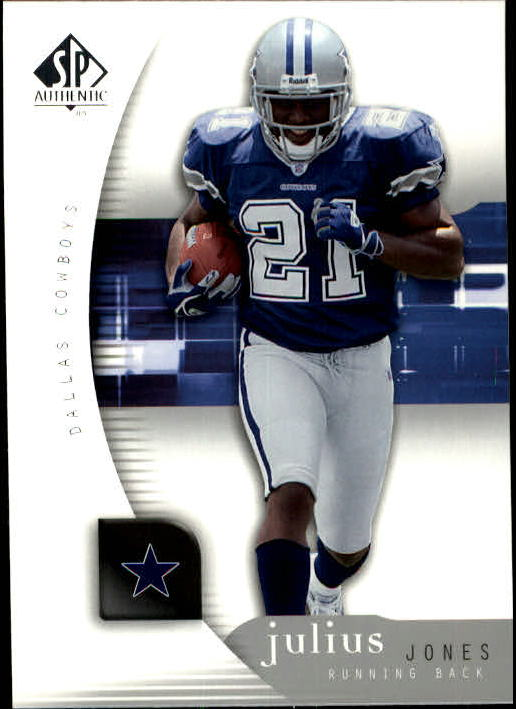 2005 SP Authentic #22 Julius Jones
