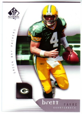 2005 SP Authentic #30 Brett Favre