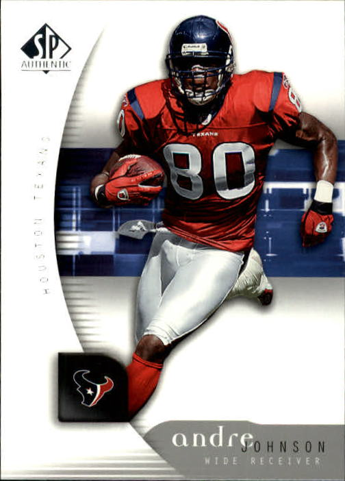 2005 SP Authentic #34 Andre Johnson