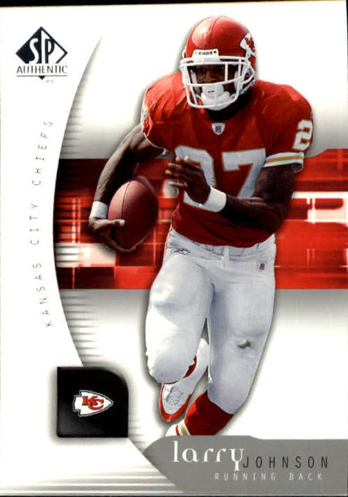 2005 SP Authentic #43 Larry Johnson