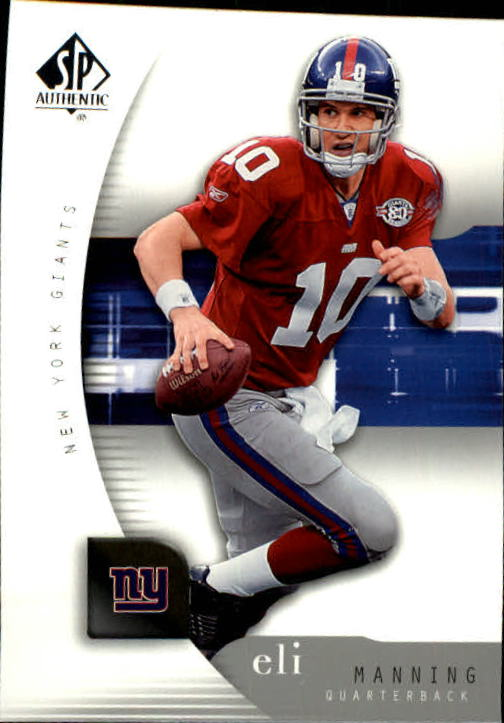 2005 SP Authentic #56 Eli Manning