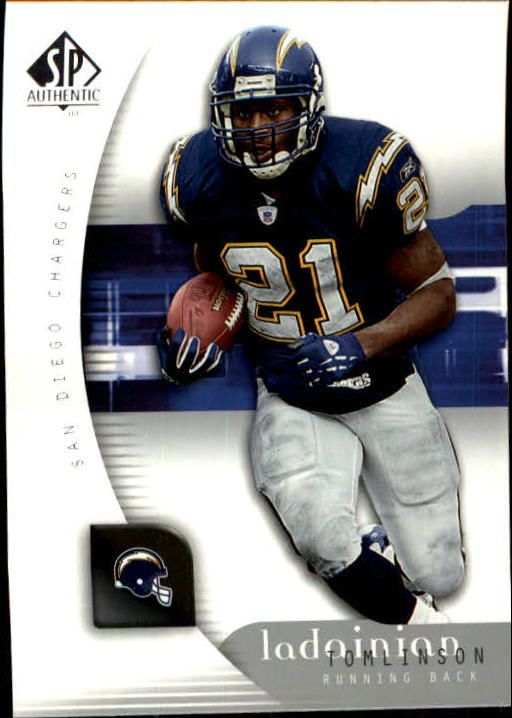 2005 SP Authentic #73 LaDainian Tomlinson