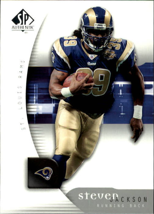 2005 SP Authentic #80 Steven Jackson