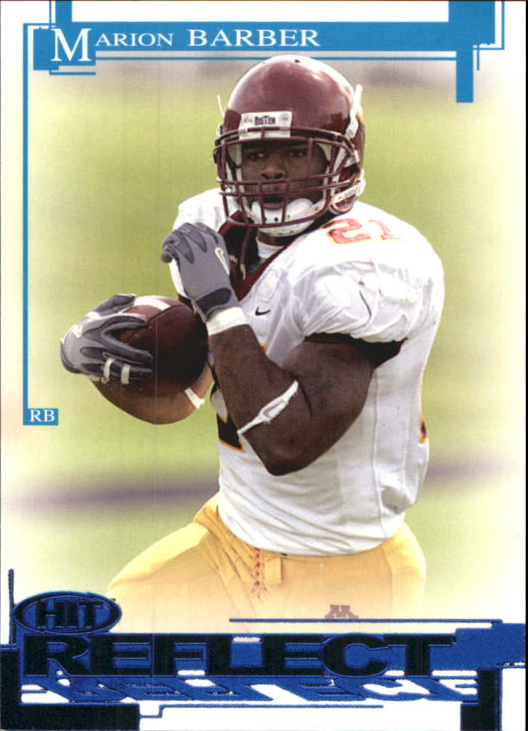 2005 SAGE HIT Reflect Blue #R20 Marion Barber