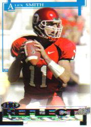 2005 SAGE HIT Reflect Silver #R11 Alex Smith QB