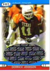 2005 SAGE HIT Autographs Silver #2 Derrick Johnson