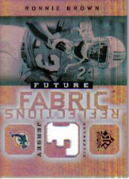2005 Reflections Future Fabrics #FFRRB Ronnie Brown