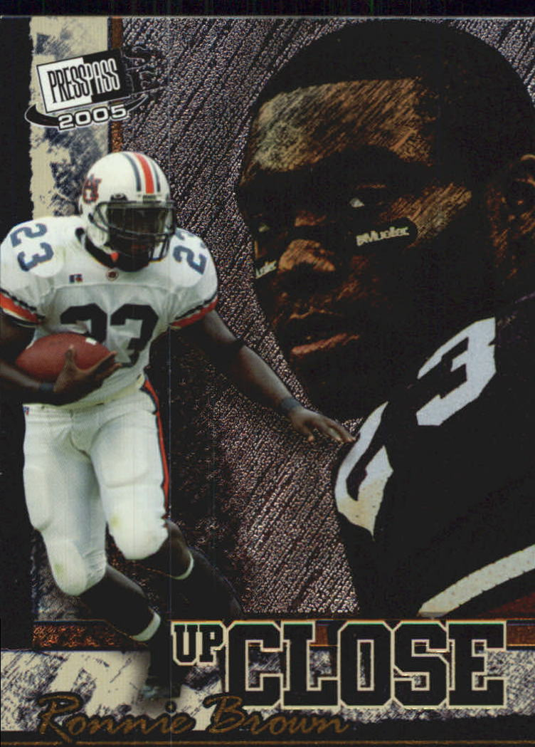 2005 Press Pass SE Up Close #UC4 Ronnie Brown front image