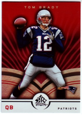 2005 Reflections #55 Tom Brady