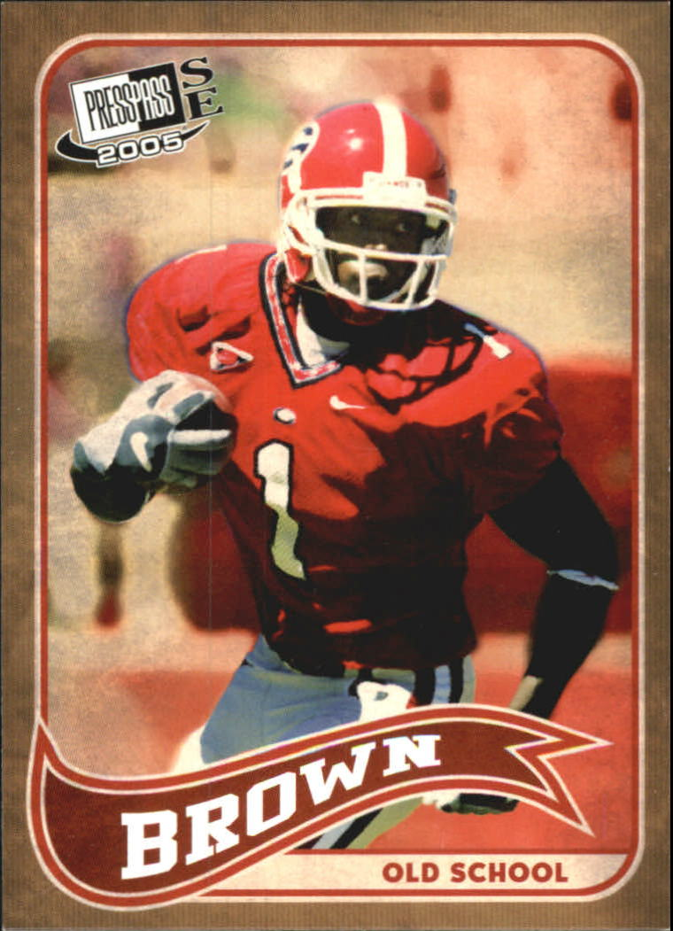 2005 Press Pass SE Old School #OS2 Reggie Brown