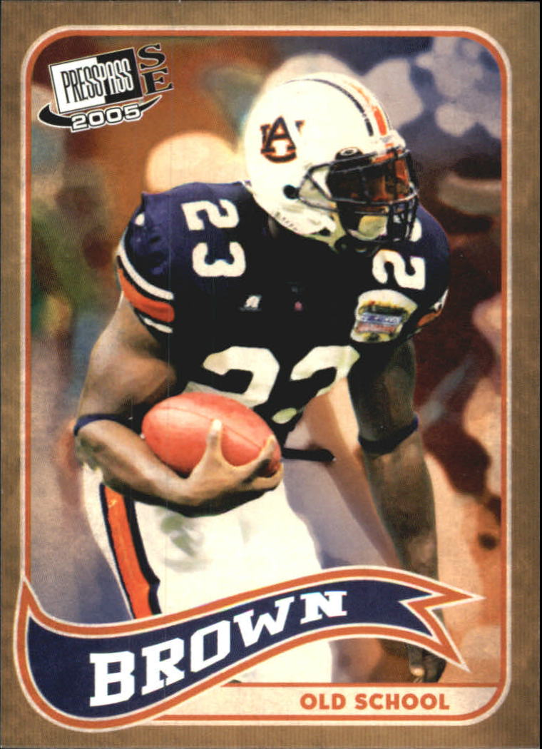 2005 Press Pass SE Old School #OS3 Ronnie Brown front image