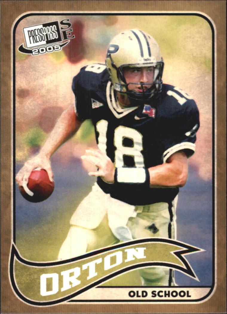 2005 Press Pass SE Old School #OS16 Kyle Orton
