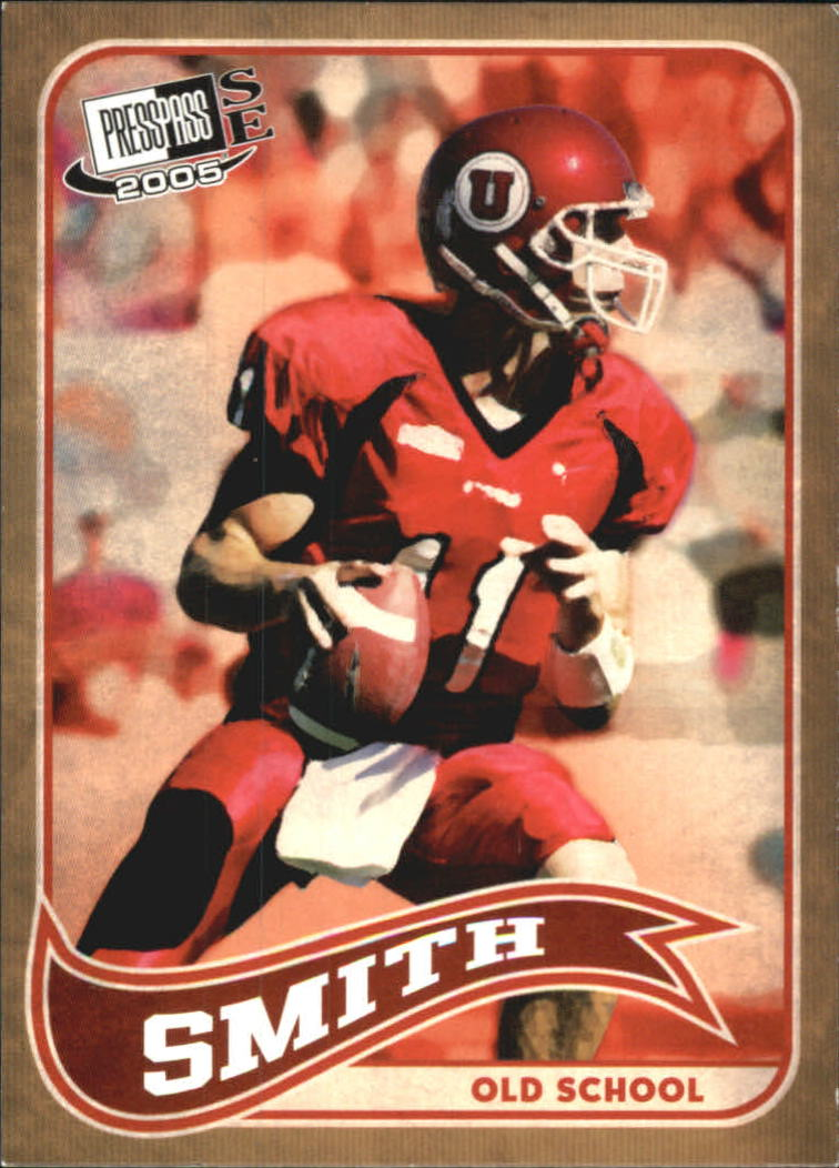 2005 Press Pass SE Old School #OS20 Alex Smith QB