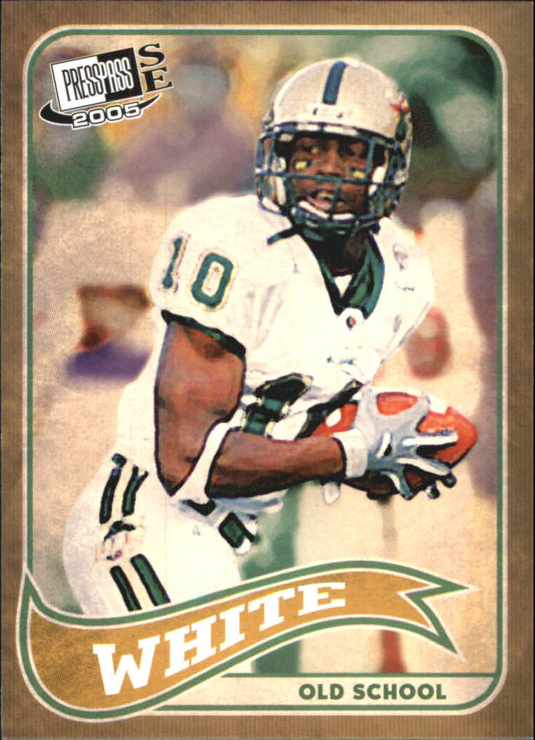 2005 Press Pass SE Old School #OS23 Roddy White