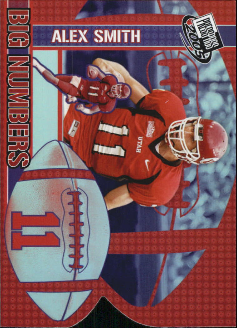 2005 Press Pass Big Numbers #BN19 Alex Smith QB