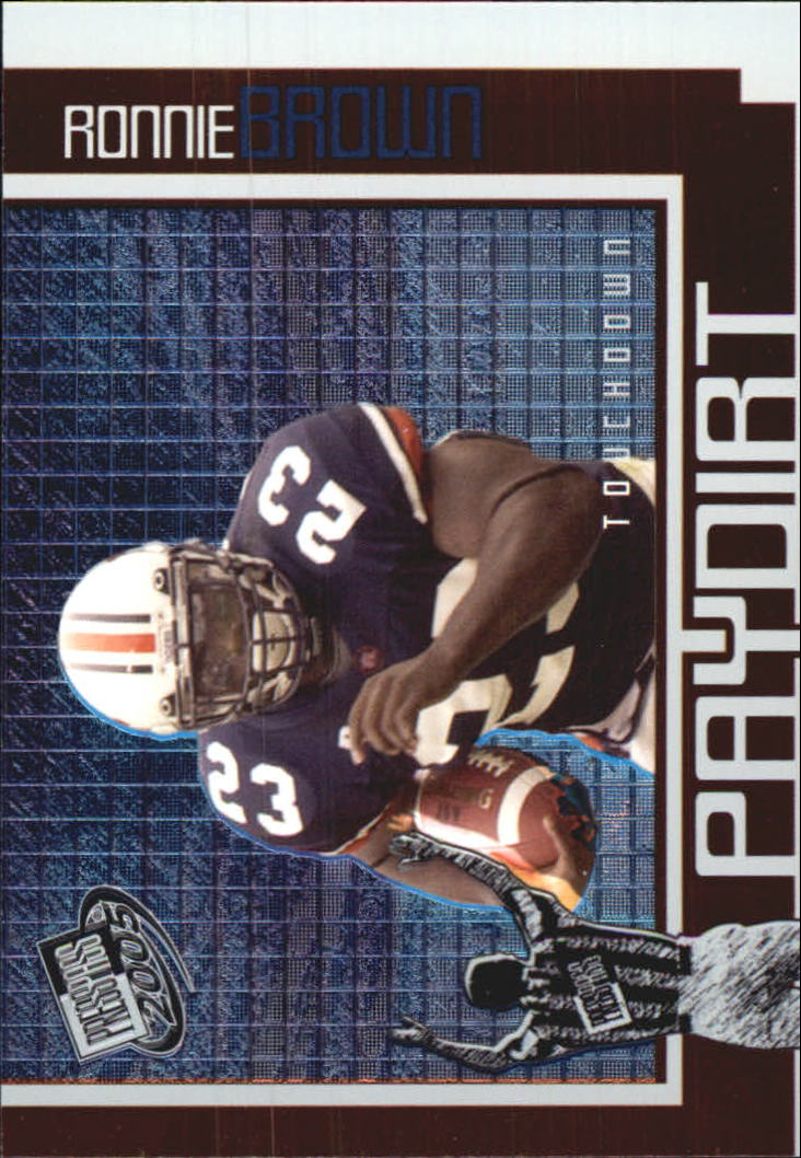 2005 Press Pass Paydirt #PD8 Ronnie Brown