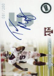 2005 Press Pass Autographs Silver #39 Terrence Murphy/183*
