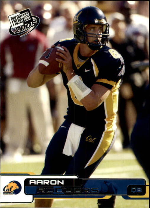 2005 Press Pass #9 Aaron Rodgers