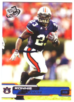 2005 Press Pass #14 Ronnie Brown front image