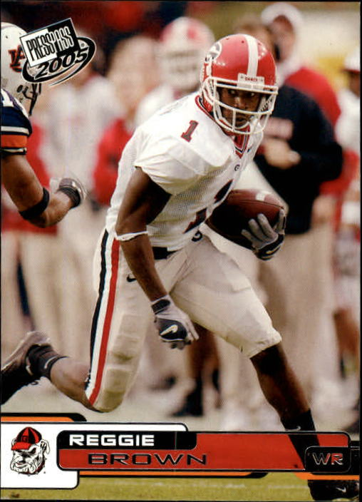 2005 Press Pass #22 Reggie Brown