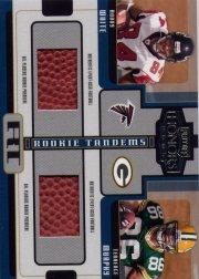 2005 Playoff Honors Rookie Tandem Jerseys/Footballs #RT8 Roddy White/Terrence Murphy