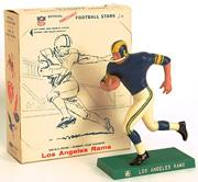 1959-63 Hartland Statues Football #22 Rams Rinning Back