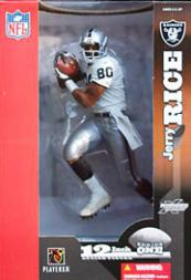 2003 McFarlane Football 12-Inch #20 Jerry Rice