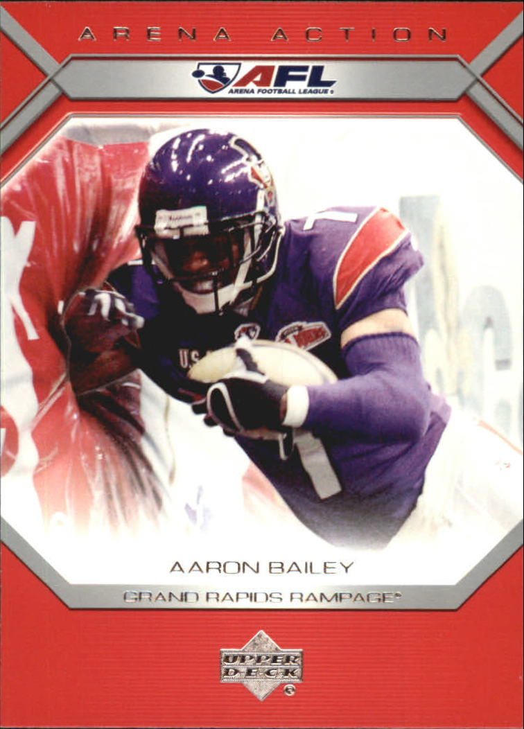 2006 Upper Deck AFL Arena Action #AA20 Aaron Bailey