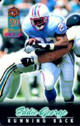 1997 Score Board Talk N' Sports Phone Cards $20 #7 Eddie George