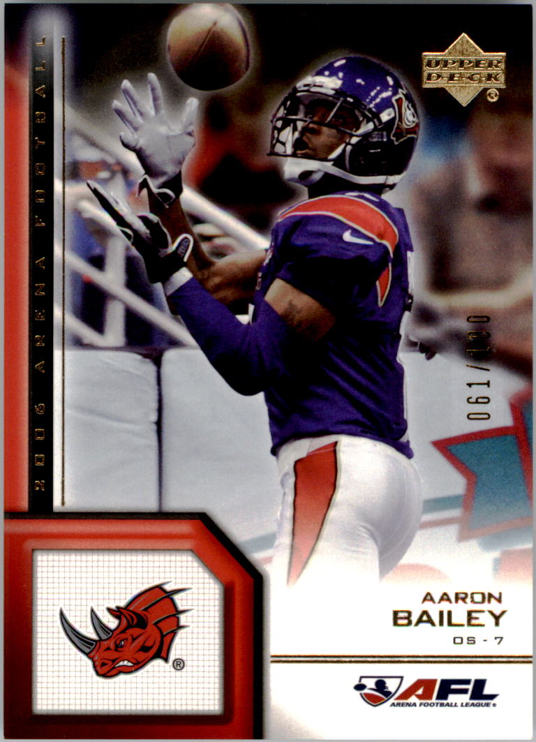 2006 Upper Deck AFL Gold #124 Aaron Bailey