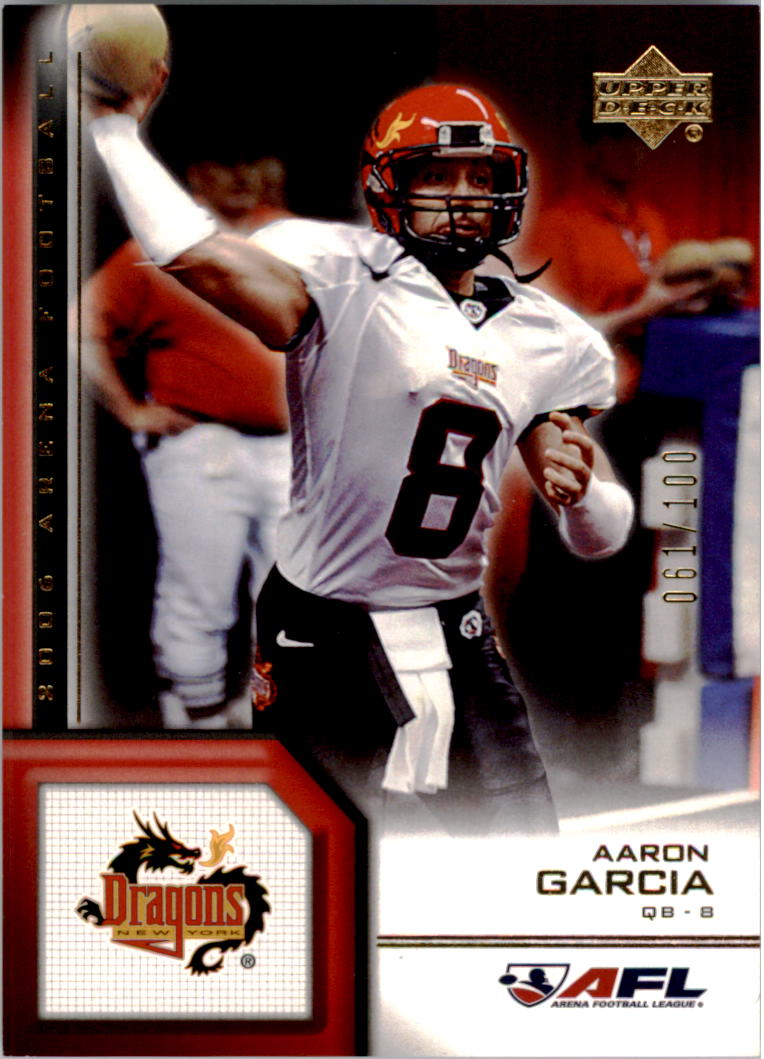 2006 Upper Deck AFL Gold #135 Aaron Garcia